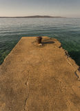Vista no mar imagens de stock