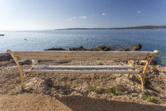 Vista no mar fotografia de stock royalty free