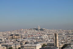 Vista no Montmartre, Paris Imagem de Stock Royalty Free
