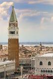 Vista no quadrado de San Marco fotografia de stock royalty free