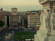 Vista no quadrado de Venezia Imagens de Stock Royalty Free