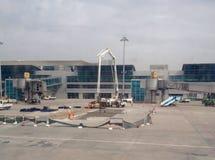 Vista no terminal de aeroporto Imagem de Stock Royalty Free