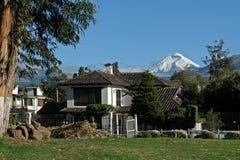 Vista no vulcão cotopaxi Fotos de Stock Royalty Free