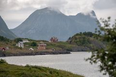 Vista norvegese Immagine Stock Libera da Diritti