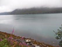 Vista norvegese Fotografie Stock