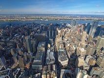 Vista ocidental de Manhattan Imagens de Stock Royalty Free