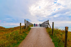 Free Vista Of Escalles From Cap Blanc-Nez, France Royalty Free Stock Image - 63702376