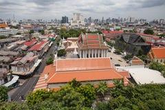 Vista orientale dal supporto dorato fotografie stock libere da diritti