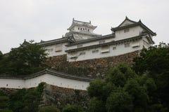 Vista pública del castillo de Himeji Fotografía de archivo
