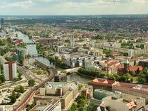 Vista panorámica de Berlín Fotografía de archivo libre de regalías