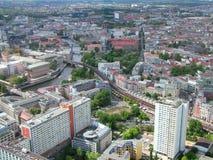 Vista panorámica de Berlín Imagenes de archivo