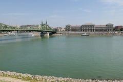 Vista panorámica de Budapest fotos de archivo