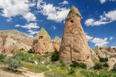 Vista panorámica de Cappadocia - Turquía Fotos de archivo libres de regalías