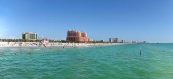 Vista panorámica de Clearwater, la Florida imagen de archivo