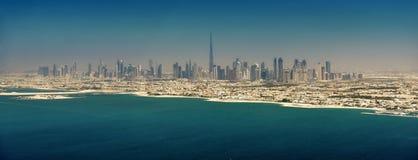 Vista panorámica de Dubai Fotografía de archivo