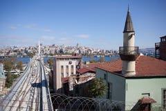 Vista panorámica de Estambul, Turquía Fotos de archivo