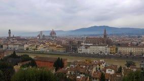 Vista panorámica de Florencia almacen de video