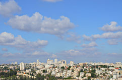 Vista panorámica de Jerusalén Foto de archivo libre de regalías
