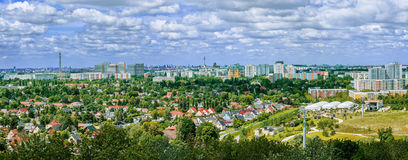 Vista panorámica de la ciudad de Berlín en un día de verano Foto de archivo