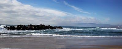Vista panorámica de la playa de Venecia, California Fotografía de archivo libre de regalías