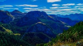 Vista panorámica de las montañas 9 Imagen de archivo