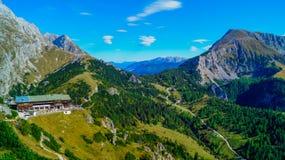 Vista panorámica de las montañas 7 Fotos de archivo libres de regalías