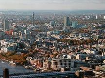 Vista panorámica de Londres Imágenes de archivo libres de regalías