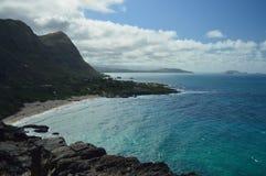 Vista panorámica de los acantilados hermosos fotografía de archivo libre de regalías