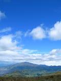 Vista panorámica de los Andes imagen de archivo