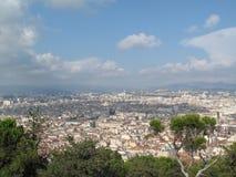 Vista panorámica de Marsella del alto Imagen de archivo libre de regalías