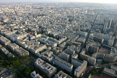 Vista panorámica de París Foto de archivo