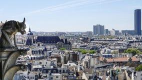 Vista panorámica de París Imagenes de archivo