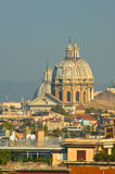 Vista panorámica de Roma Imagen de archivo