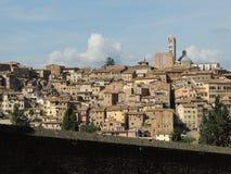 Vista panorámica de Siena Imagen de archivo libre de regalías