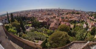 Vista panorámica de Verona Foto de archivo libre de regalías
