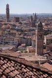 Vista panorámica de Verona Fotografía de archivo libre de regalías