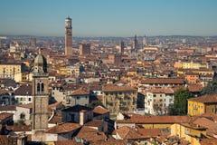 Vista panorámica de Verona Fotos de archivo