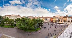 Vista panorámica de Verona Fotos de archivo libres de regalías