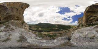 Vista panorámica del barranco Imagen de archivo libre de regalías