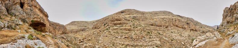 Vista panorámica del barranco Imagen de archivo