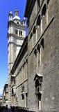 Vista panorámica del centro de ciudad de Génova, capital de Liguria p Fotos de archivo