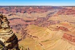 Vista panorámica del Gran Cañón Fotos de archivo