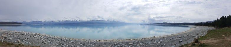 Vista panorámica del paisaje de Nueva Zelanda imágenes de archivo libres de regalías
