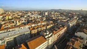 Vista panorámica del panorama del centro de Oporto, Portugal Viajes Foto de archivo