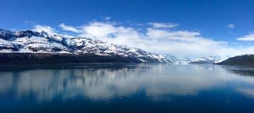 Vista panorámica del Parque Nacional Glacier Fotos de archivo