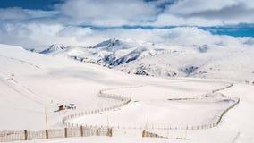 Vista panorámica del pico de montaña Fotos de archivo libres de regalías