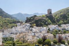 Vista panorámica del pueblo de Cazorla, en Sierra de Cazorla, Jae foto de archivo libre de regalías