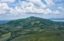 Vista panorámica en Tailandia Fotografía de archivo libre de regalías