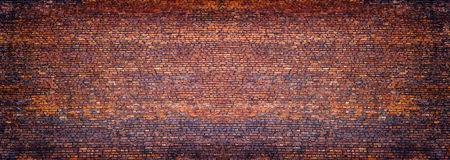 Vista panorâmica da alvenaria, parede de tijolo como o fundo fotos de stock