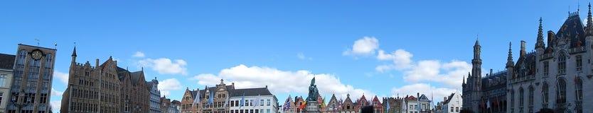 Vista panorâmica da arquitetura de Bélgica Foto de Stock